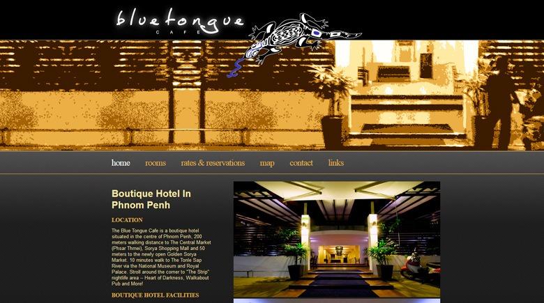 Web Design: Blue Tongue