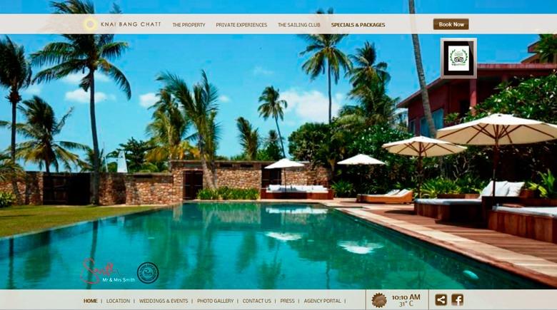 Web Design: Knai Bang Chatt