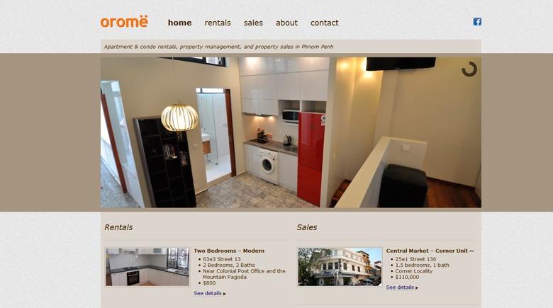 Web Design: Orome