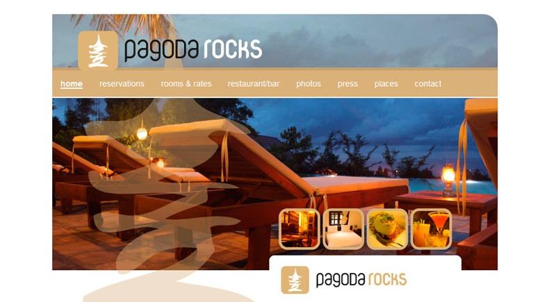 Web Design: Pagoda Rocks