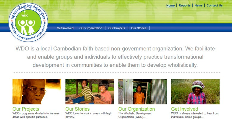 Web Design: Wholistic Development Organization