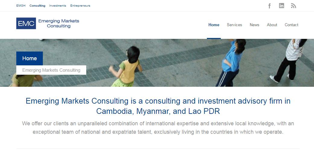 Web Design: Emerging Markets Group
